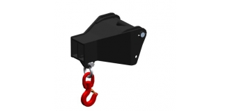 Frame Mounted Hook Heavy Duty