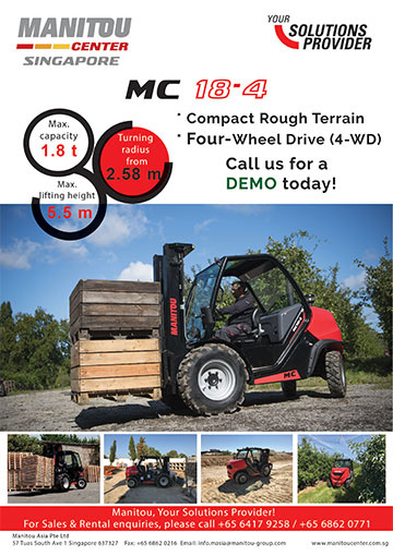 Products News | Manitou Singapore